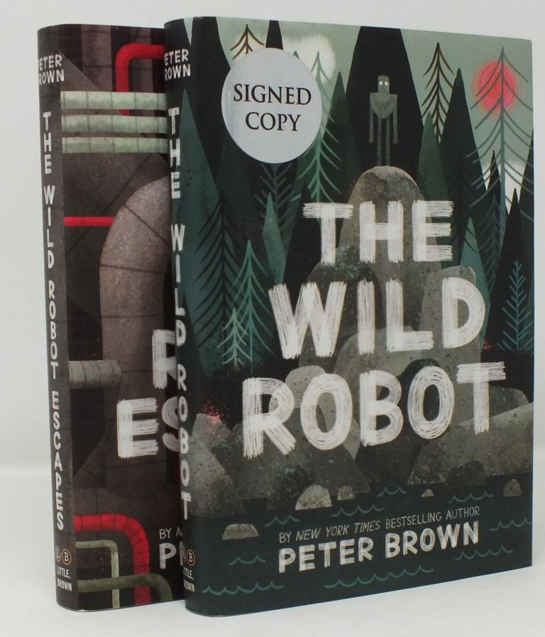 The Wild Robot; The Wild Robot Escapes; Two Volume Set. Peter BROWN.