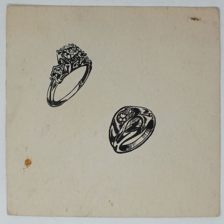 Wedding Rings; Commercial Art. UNKNOWN.