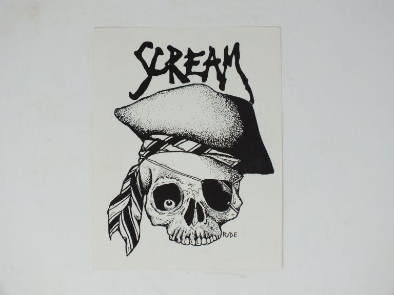 "Club ""Scream"" Flyers. Marc RUDE, Marc Hoffman."