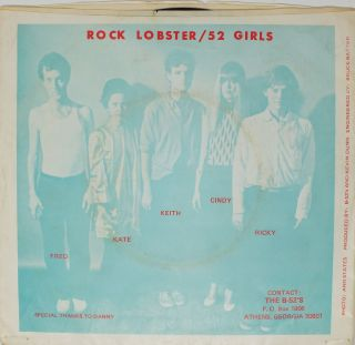 Rock Lobster; 52 Girls