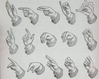 The Sign Language. J. Schuyler LONG