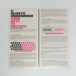 Your Keys to Success; A Touch Typing Course