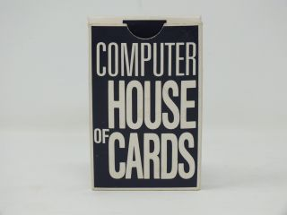 Computer House of Cards. Charles EAMES