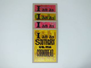 I AM AS SOUTHERN AS...(SERIES). Amos KENNEDY