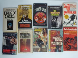 Teen Gang Drug Set: 10 Volumes; The Cross and the Switchblade, Hey, Preach...You're Comin'...